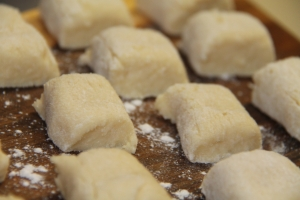 Home-made Gnocchi