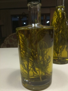Rosemary infused Olive Oil