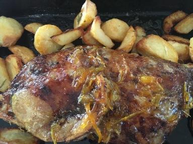 Marmalade Roast Lamb